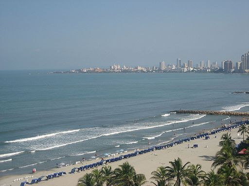 Beach in Cartagena 2