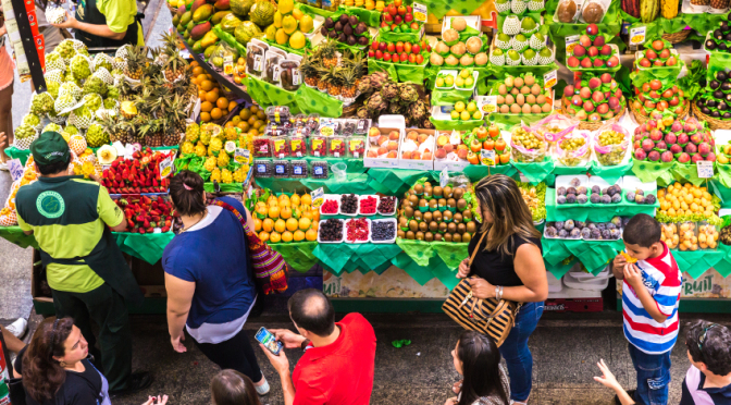 Colombian Lifestyle Outdoor Markets