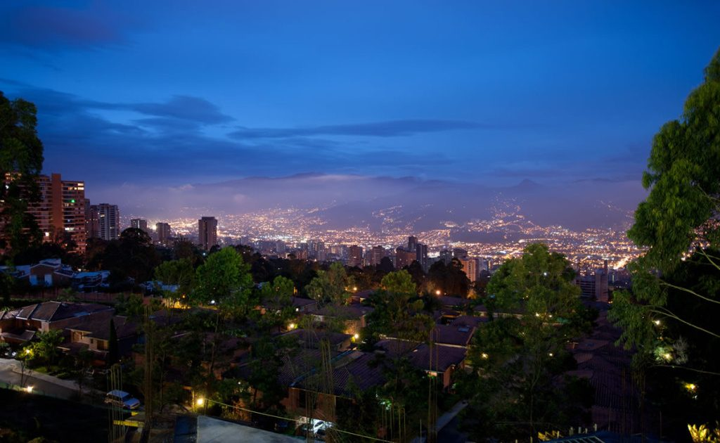 Medellin LIfestyle Views from Las Palmas