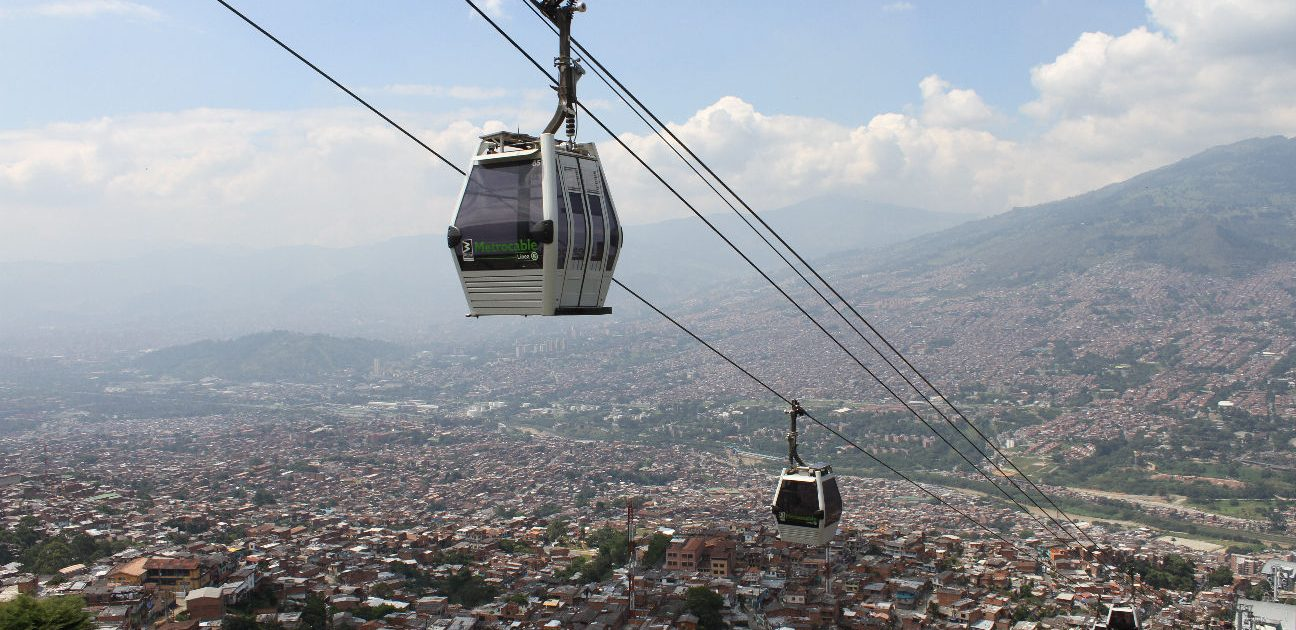 Medellin Lifestyle Cable Car