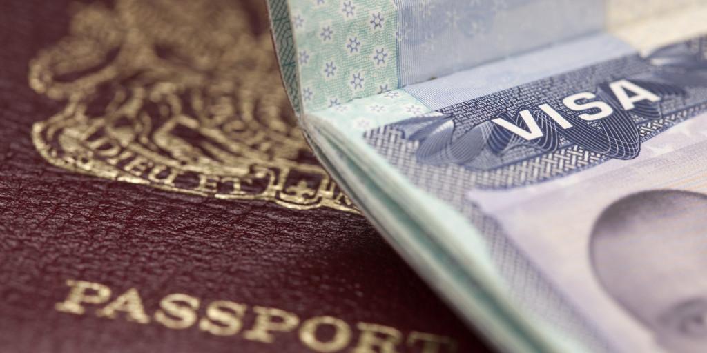 Medellin Lifestyle Visa Stamp and Passport