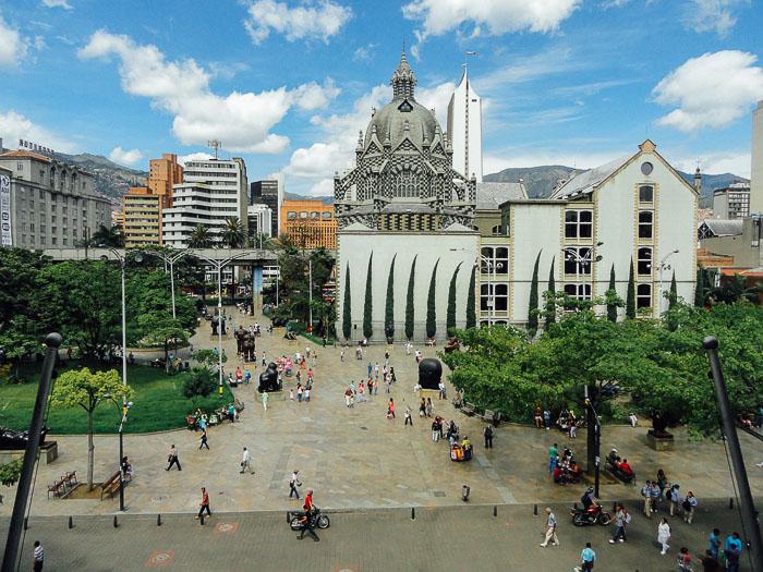 Medellin's El Centro Downtown