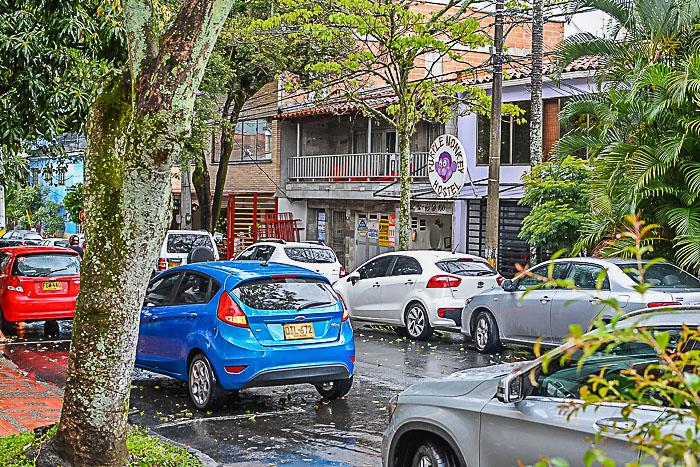 Manila Neighborhood in Medellin Colombia