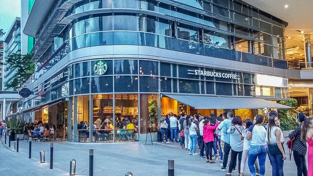 Starbucks in Medellin