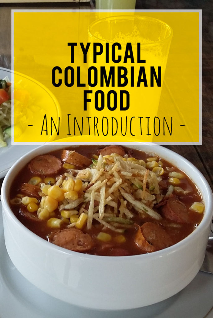Here's an introduction to typical Colombian food and a few things you must absolutely try while you are visiting...